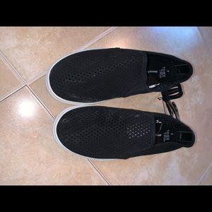 Time and True perforated slip ons size 7